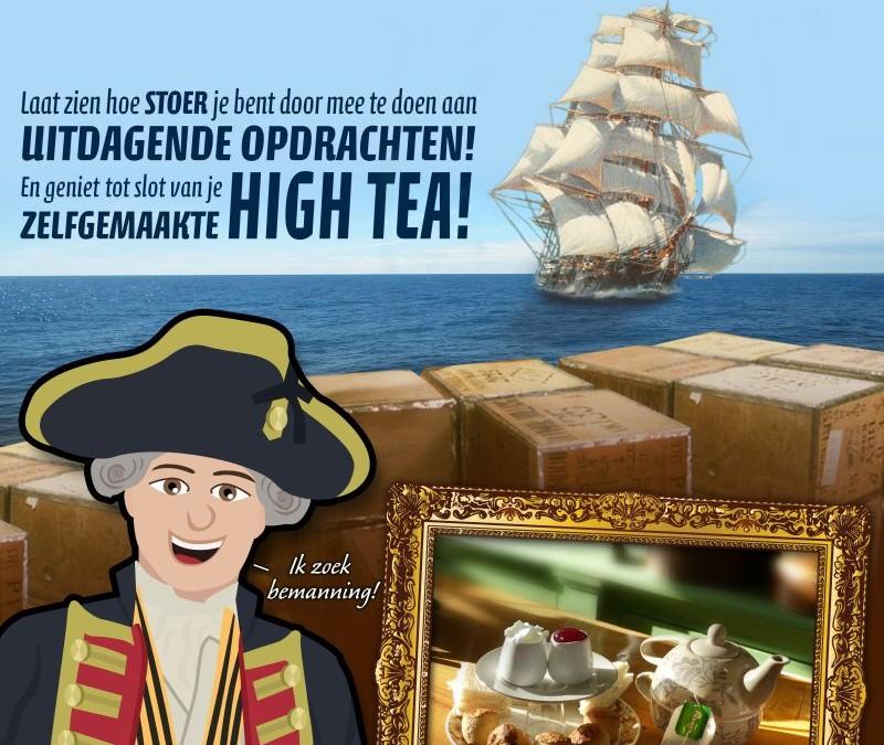 Help kapitein Koffiekop in Museum Joure