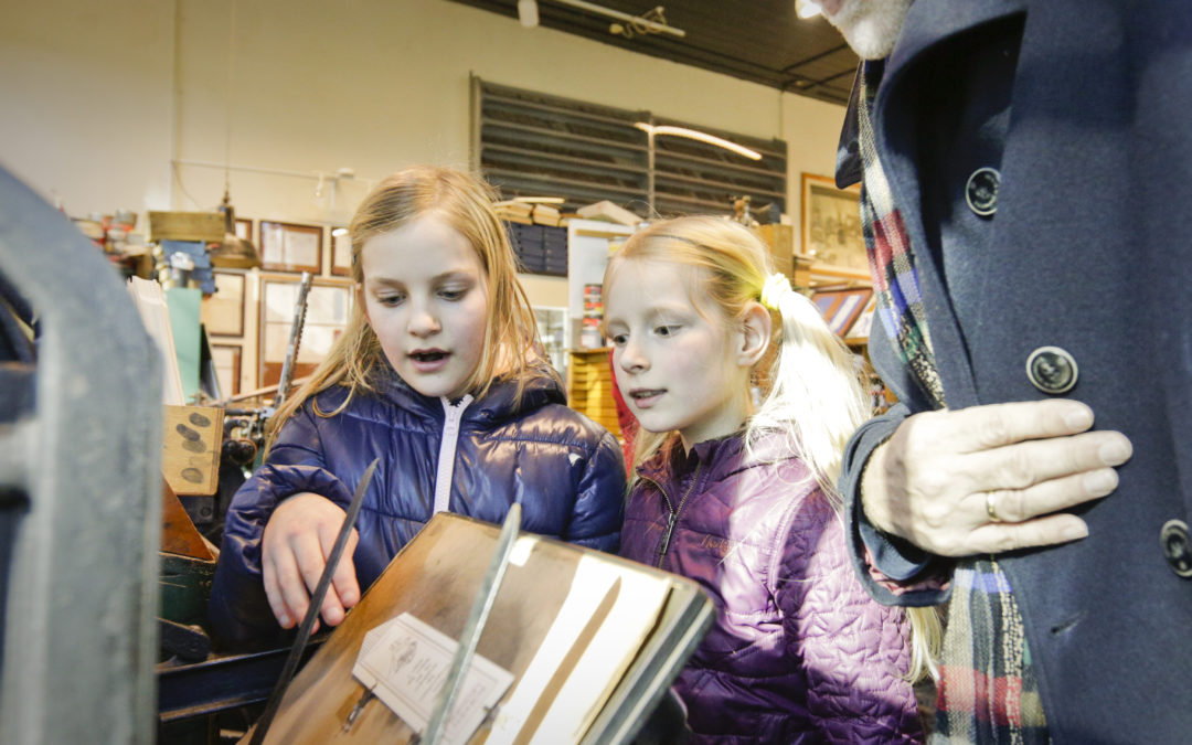 Drukkerijdagen in Museum Joure