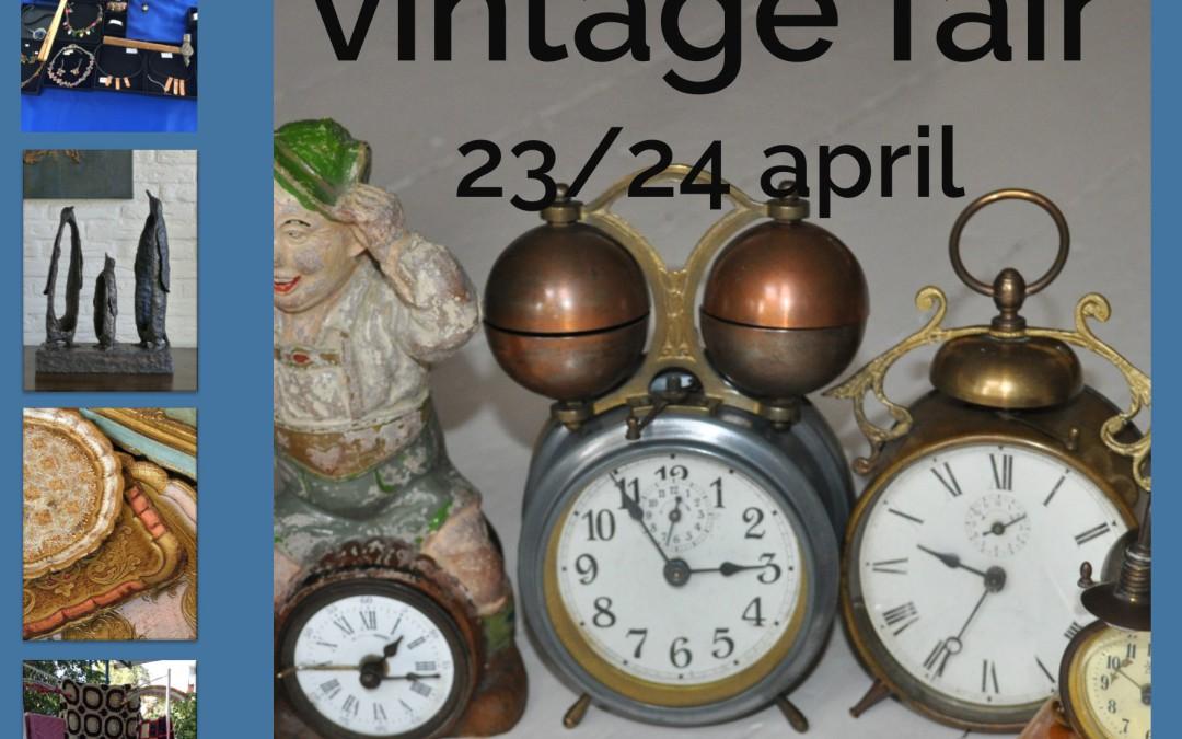 Museumweekend met Vintage Fair