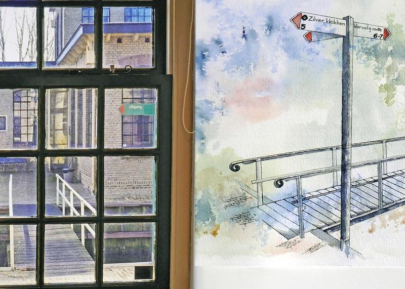 Tentoonstelling Door de vensters van Museum Joure