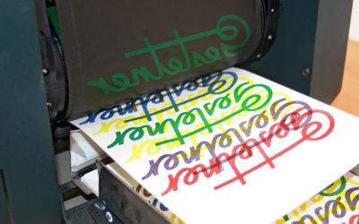 Reünie medewerkers Gestetner stencilmachines