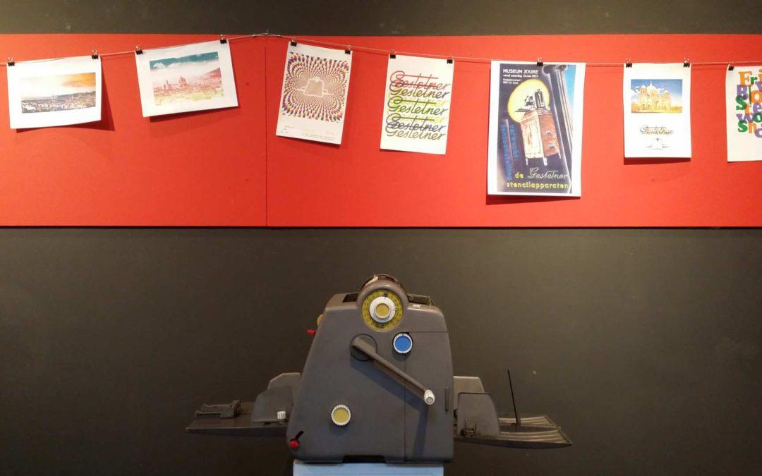 Print Workshop Gestetner stencilmachine
