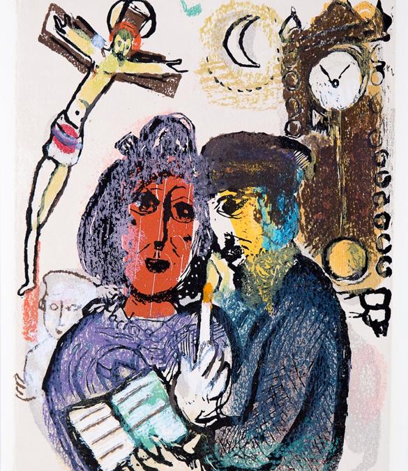 Expositie over 'De klokken van Chagall'