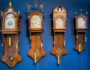 Kantoortjes klokken