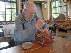 Klokkenatelier in Museum Joure