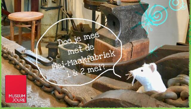 Kom naar De Meimaakfabriek (1 & 2 mei)