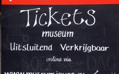 MuseumJoure per 1 juni weer geopend!
