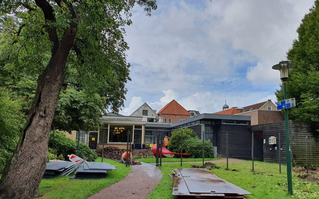 Start herinrichting Museumstraat en tuinen Museum Joure