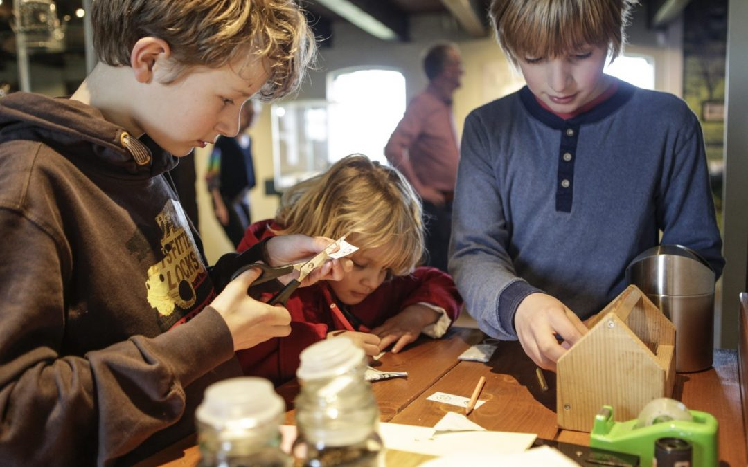 Tijdens de kinderboekenweek met de klas naar Museum Joure