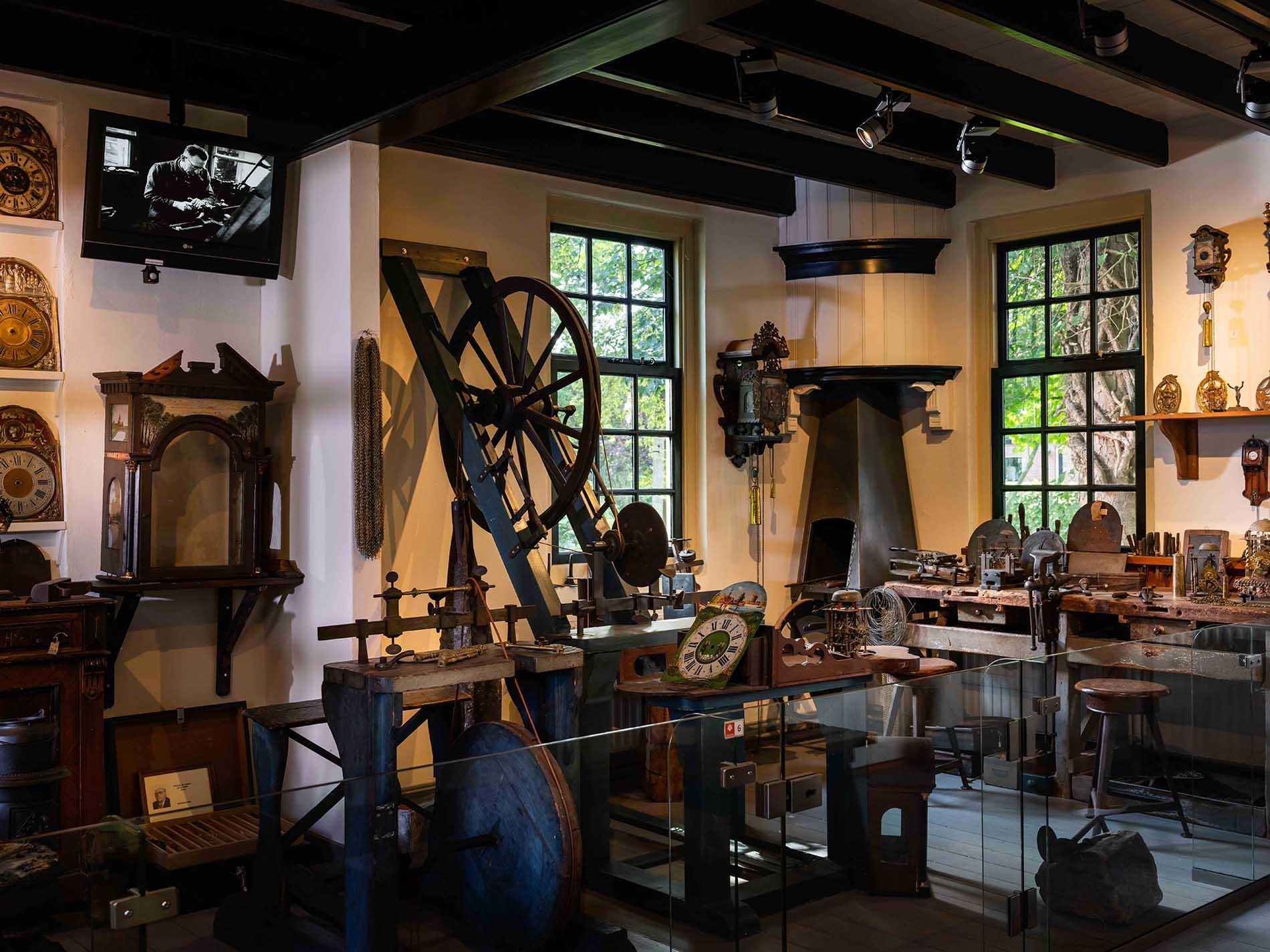 klokkenmakerij museum joure