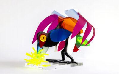 Kleurrijk werk van Wim Schingenga in Museum Joure